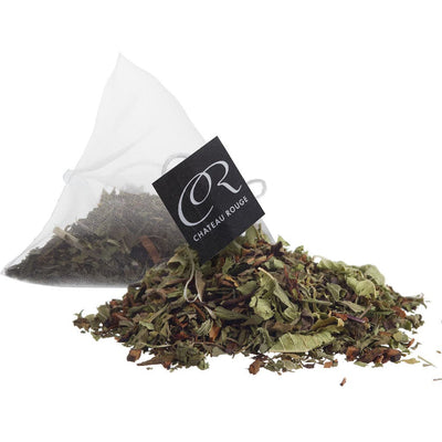 Chateau Rouge Fine Foods_Peppermint Honeybush_Organic Herbal Loose Tea Bags