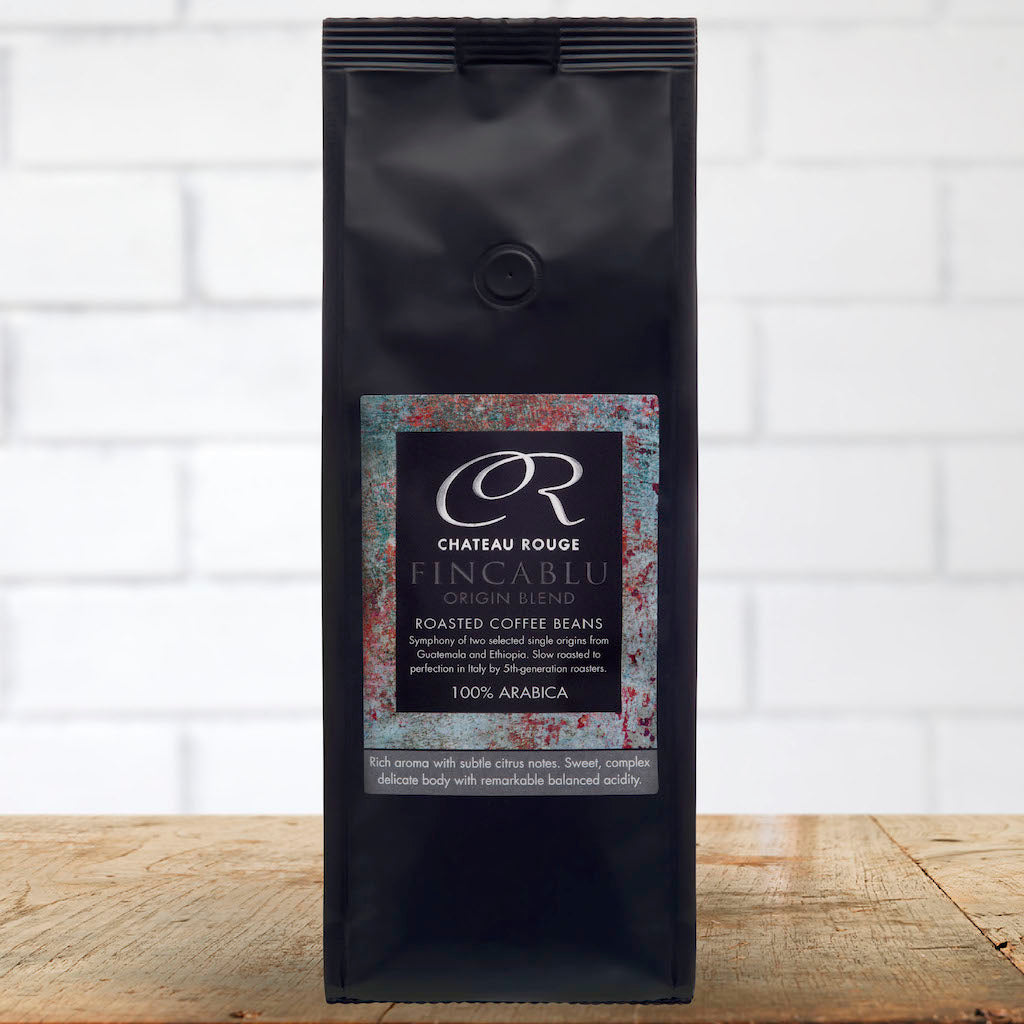 Chateau Rouge Fine Foods UK_Fincablu Italian Espresso_Arabica Gourmet Roasted Coffee Beans