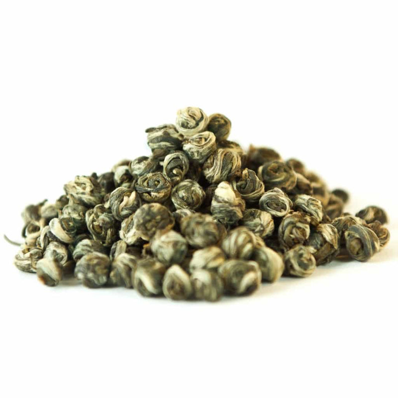 Organic Jasmine Dragon Pearls - Loose Leaf Green Tea - Chateau Rouge Fine Foods
