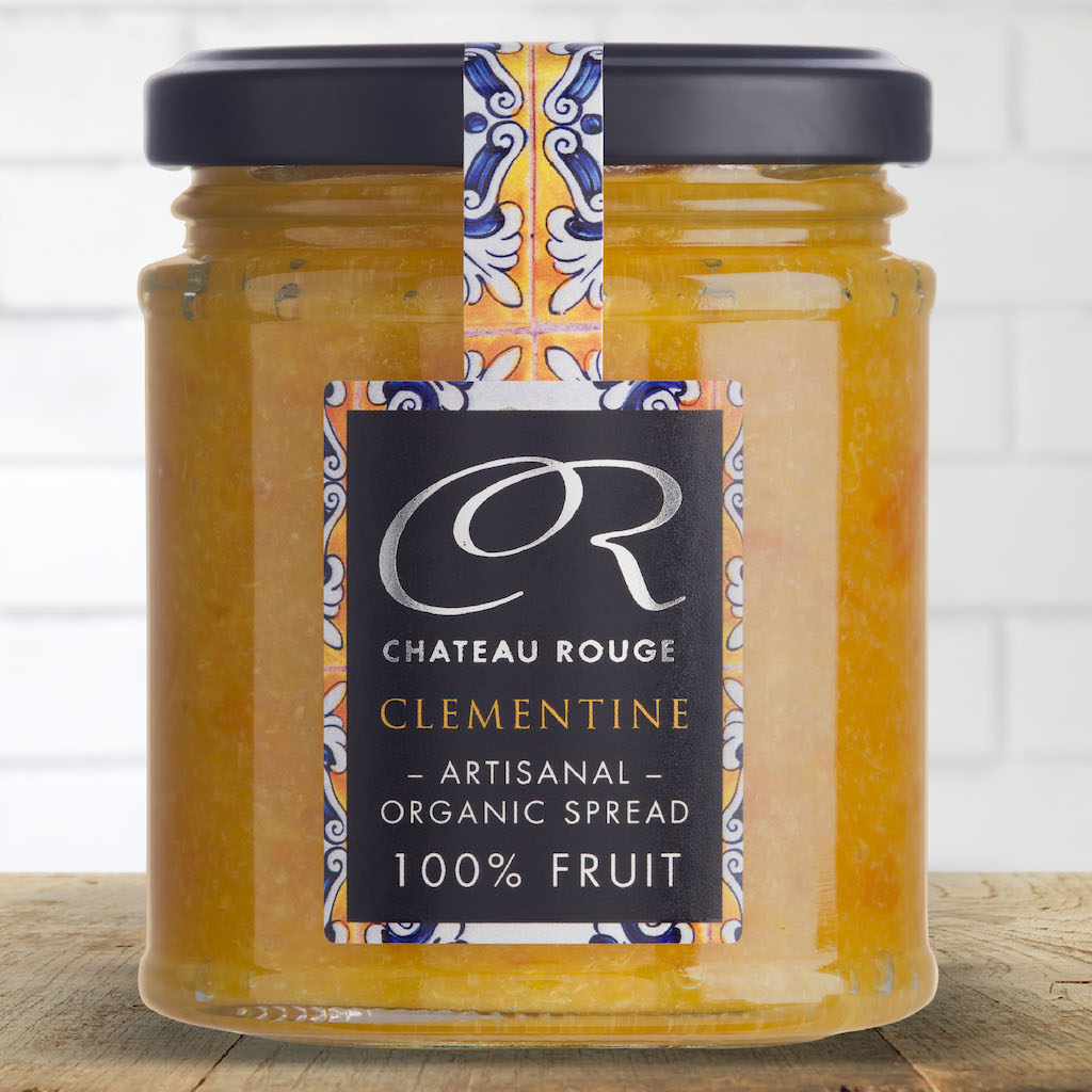 Chateau Rouge Fine Gourmet Foods UK_Organic Clementine Fruit Jam Spread