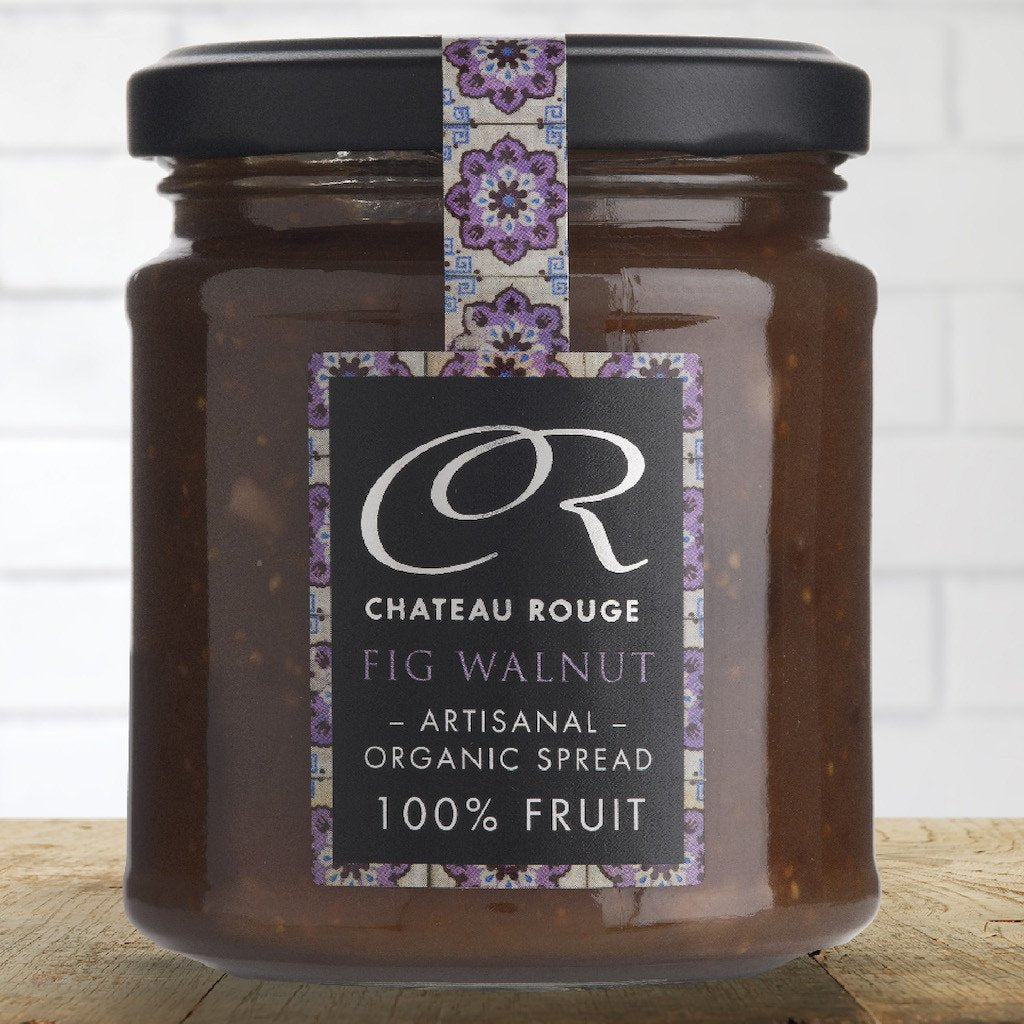 Fig & Walnut - Organic Fruit Jam - Chateau Rouge Fine Foods