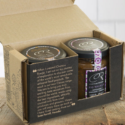 Chateau Rouge Organic Fruit Jam & Honey Gift Sets_carton