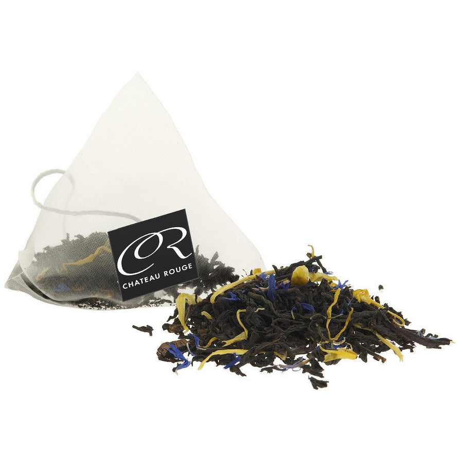 Prince of Earl Grey - Organic Black Tea Bags Tin - Chateau Rouge Fine Foods