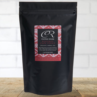 Chateau Rouge Fine Foods - Rooibos Cape Point - Organic Loose Leaf Herbal Tea Refill Pouch