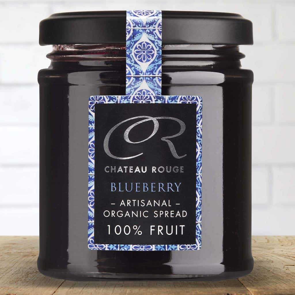 french blueberry jam