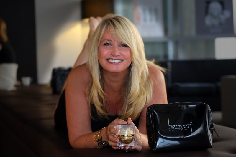 Deborah Mitchell creator of Heaven Skincare Interview