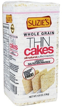 Suzie's Think Healthy Thin Cakes Gluten Free -- 4.9 oz