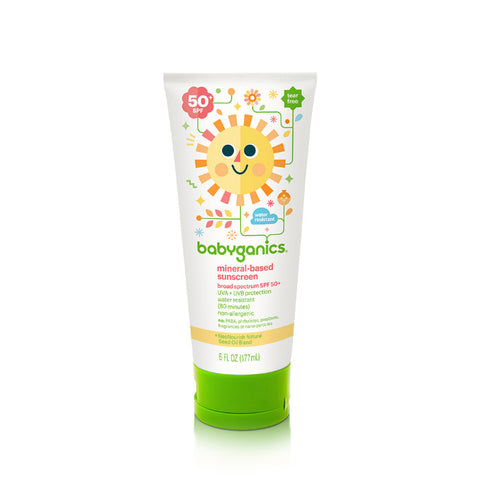 Babyganics Cover-Up Baby Sunscreen Lotion SPF 50 - 2 fl oz