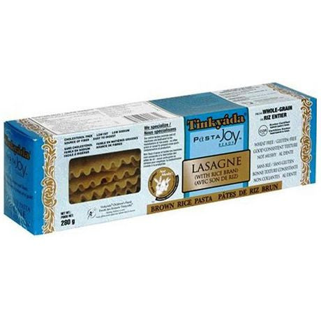 Tinkyada Brown Rice Lasagna Gluten Free -- 10 oz
