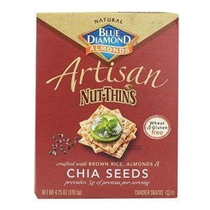 Blue Diamond Artisan Nut-Thins Chia Seeds -- 4.25 oz