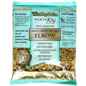 Tinkyada Organic Brown Rice Pasta Elbows Gluten Free -- 12 oz