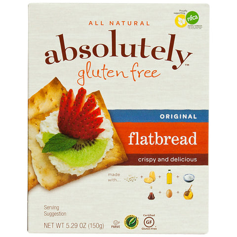 Absolutely Gluten Free Flatbread Original -- 5.29 oz