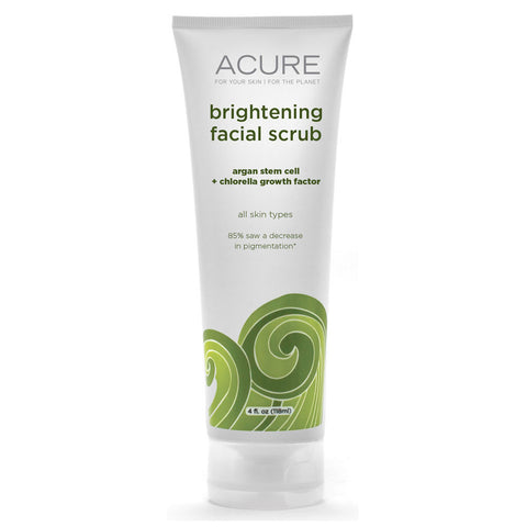 Acure Organics Brightening Facial Scrub Sea Kelp  -- 4 oz