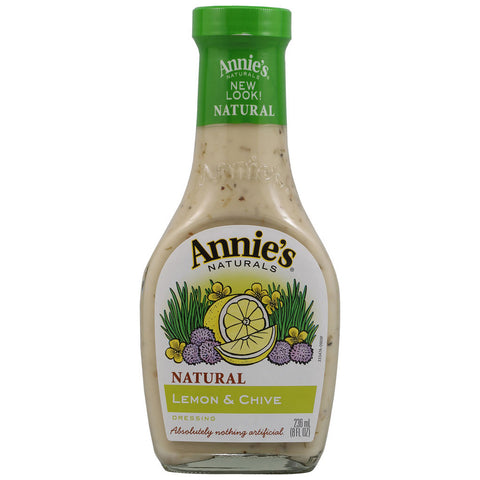 Annie's Naturals Dressing Lemon and Chive -- 8 fl oz