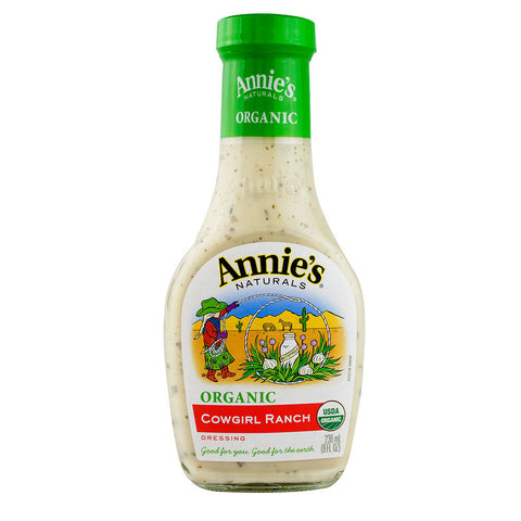 Annie's Naturals Organic Dressing Cowgirl Ranch -- 8 fl oz