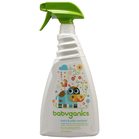 Babyganics Stain Stain Go Away Stain Remover Fragrance Free -- 32 fl oz