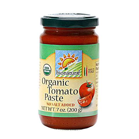 Bionaturae Organic Tomato Paste -- 7 oz