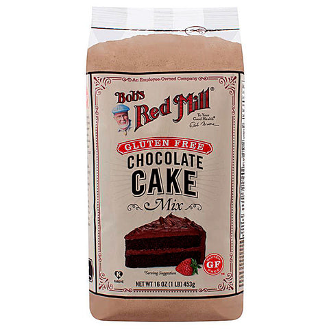 Bob's Red Mill Gluten Free Cake Mix Chocolate -- 16 oz