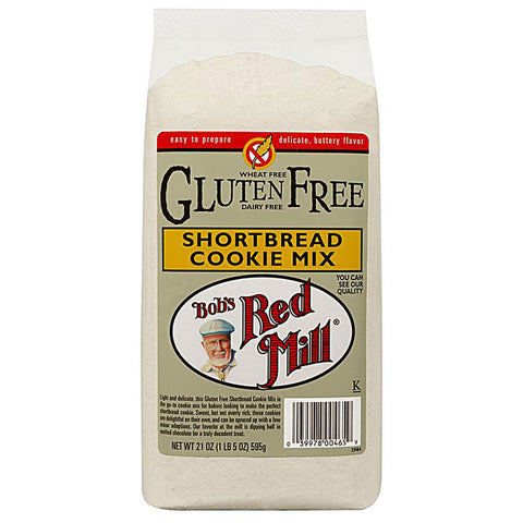 Bob's Red Mill Gluten Free Cookie Mix Shortbread -- 21 oz