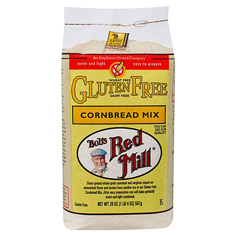 Bob's Red Mill Gluten Free Cornbread Mix -- 20 oz