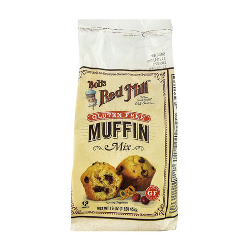 Bob's Red Mill Gluten Free Muffin Mix -- 16 oz