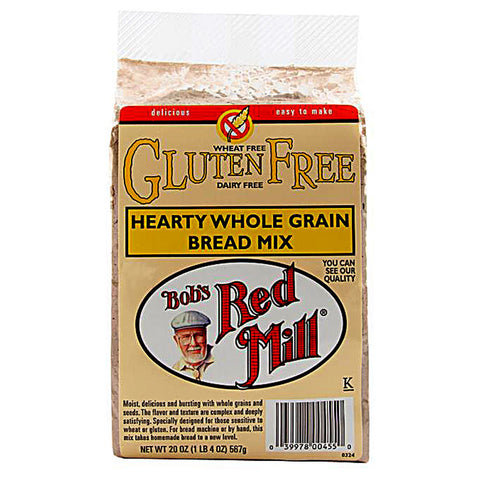 Bob's Red Mill Hearty Whole Grain Bread Mix Gluten Free -- 20 oz
