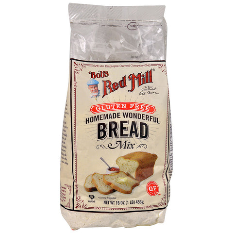 Bob's Red Mill Homemade Wonderful Bread Mix Gluten Free -- 16 oz