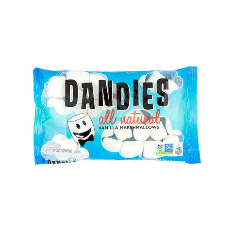 Dandies All Natural Marshmallows Vanilla -- 10 oz