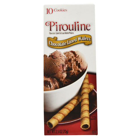 DeBeukelaer Pirouline Chocolate Lined Wafers -- 2.5 oz