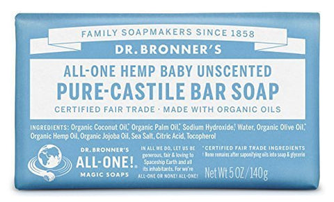 Dr. Bronners Magic Soap All-One Hemp Pure- Castile Soap Baby Mild (5oz)