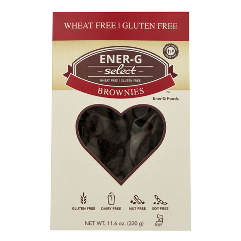 Ener-G Select Brownies Gluten Free -- 11.6 oz