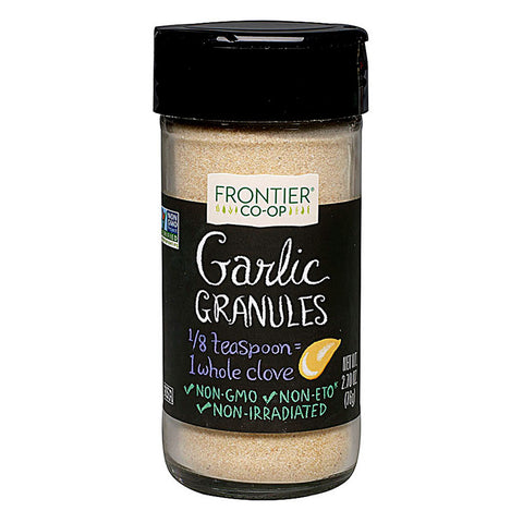 Frontier Co-Op Garlic Granules -- 2.7 oz