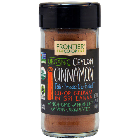 Frontier Co-Op Organic Ceylon Cinnamon Ground -- 1.76 oz