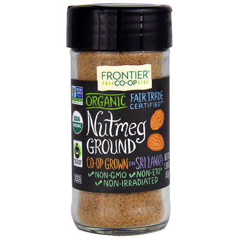 Frontier Co-Op Organic Nutmeg Ground -- 1.9 oz