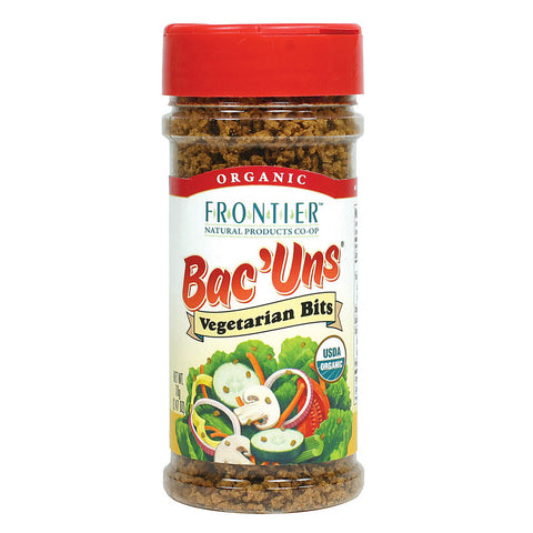 Frontier Natural Products Organic Bac' Uns Vegetarian Bits -- 2.47 oz
