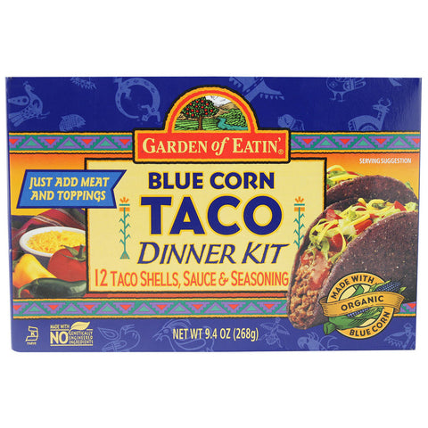 Garden of Eatin' Blue Corn Taco Dinner Kit -- 1 Kit