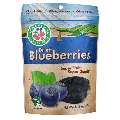Graceland Fruit Dried Blueberries -- 5 oz