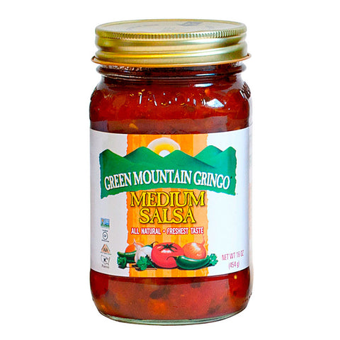 Green Mountain Gringo Salsa Medium -- 16 fl oz