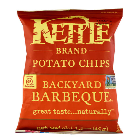 Kettle Foods Potato Chips Barbeque -- 1.5 oz