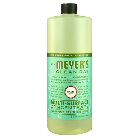 Mrs. Meyer's Clean Day Multi-Surface Concentrate Basil -- 32 fl oz