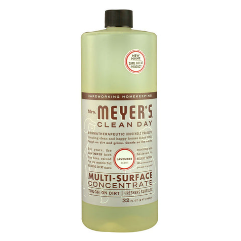 Mrs. Meyer's Clean Day Multi-Surface Concentrate Lavender -- 32 fl oz