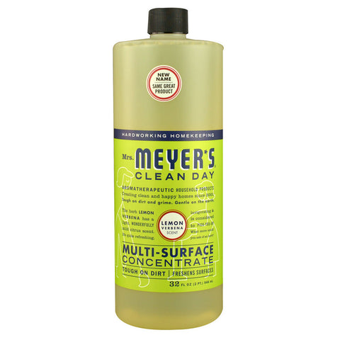 Mrs. Meyer's Clean Day Multi-Surface Concentrate Lemon Verbena -- 32 fl oz