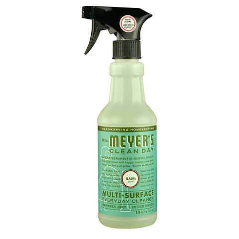 Mrs. Meyer's Clean Day Multi-Surface Everyday Cleaner Basil -- 16 fl oz