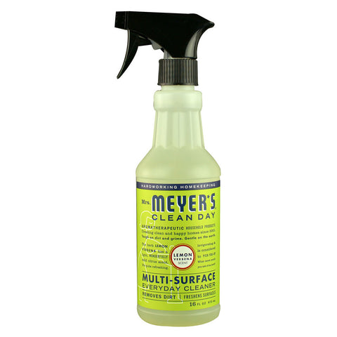 Mrs. Meyer's Clean Day Multi-Surface Everyday Cleaner Lemon Verbena -- 16 fl oz
