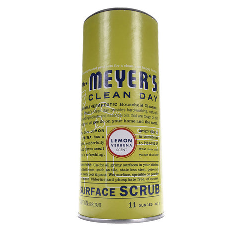 Mrs. Meyer's Clean Day Surface Scrub Lemon Verbena -- 11 oz
