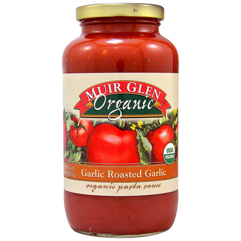 Muir Glen Organic Pasta Sauce Garlic Roasted Garlic -- 25.5 fl oz