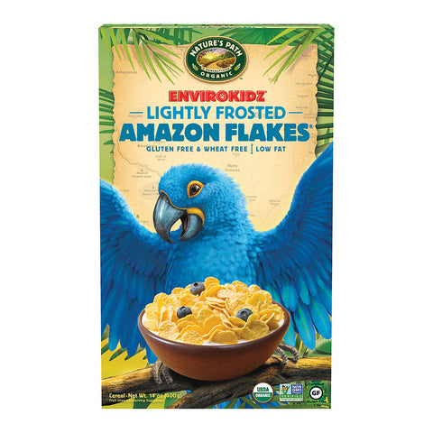 Nature's Path EnviroKidz Organic Amazon Frosted Flakes -- 14 oz