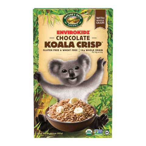 Nature's Path EnviroKidz Organic Koala Crisp Cereal Chocolate -- 11.5 oz