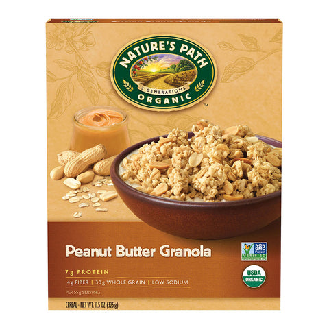 Nature's Path Organic Granola Peanut Butter -- 11.5 oz