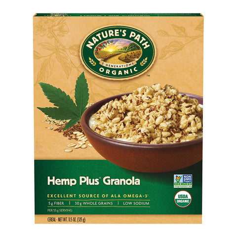 Nature's Path Organic Hemp Plus Granola -- 11.5 oz